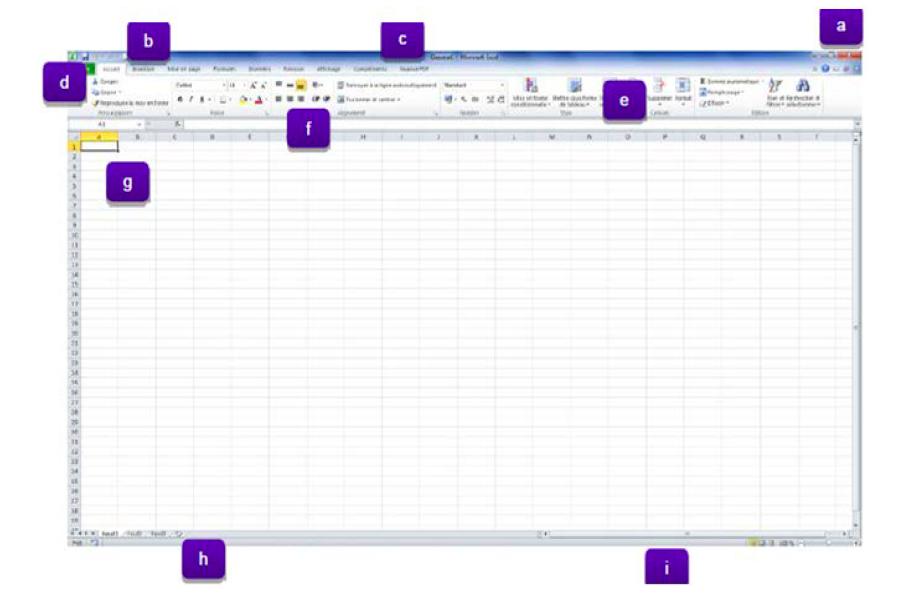 Découverte d'Excel