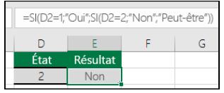 """La fonction """"SI"""" sur Excel"""