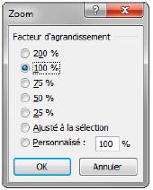 Modifier les paramètres d'affichage sur Excel : zoom